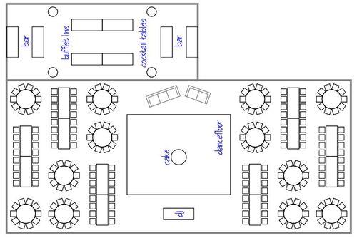 Proposing Dreams Wedding  U0026 Events  Layouts  Maps  Diagrams